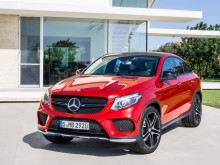 Новый Mercedes-Benz GLE Coupe 2015-2016 фото