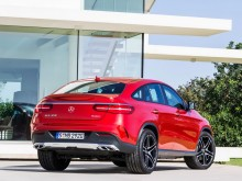Фото Mercedes GLE Coupe 2015-2016