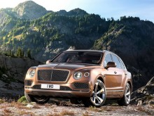 Новый Bentley Bentayga 2016-2017 фото