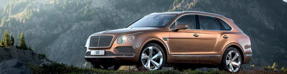 Bentley Bentayga: первый внедорожник в истории фирмы