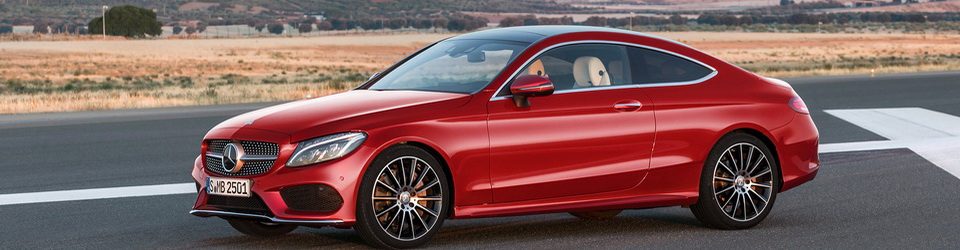 Mercedes-Benz C-Class Coupe 2016-2017