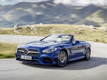 Фото Mercedes-Benz SL 2016-2017 года