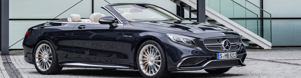 Mercedes-Benz S65 AMG Cabriolet 2016-2017