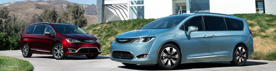 Chrysler Pacifica 2016-2017