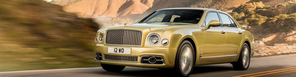 Bentley Mulsanne 2016-2017
