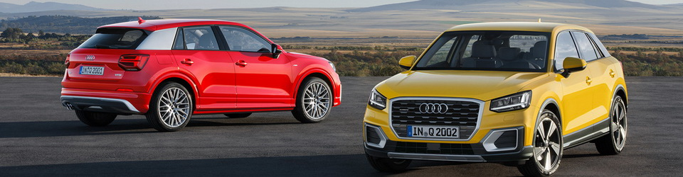 Audi Q2 2016-2017
