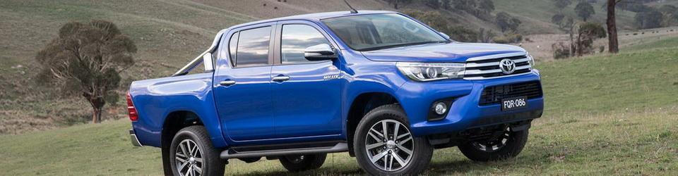 Технические характеристики Toyota Hilux