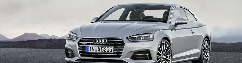 Audi A5 Coupe 2016-2017
