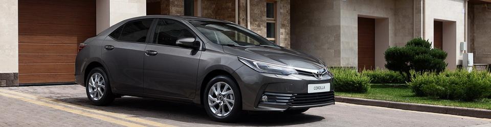 Технические характеристики Toyota Corolla 2016-2017