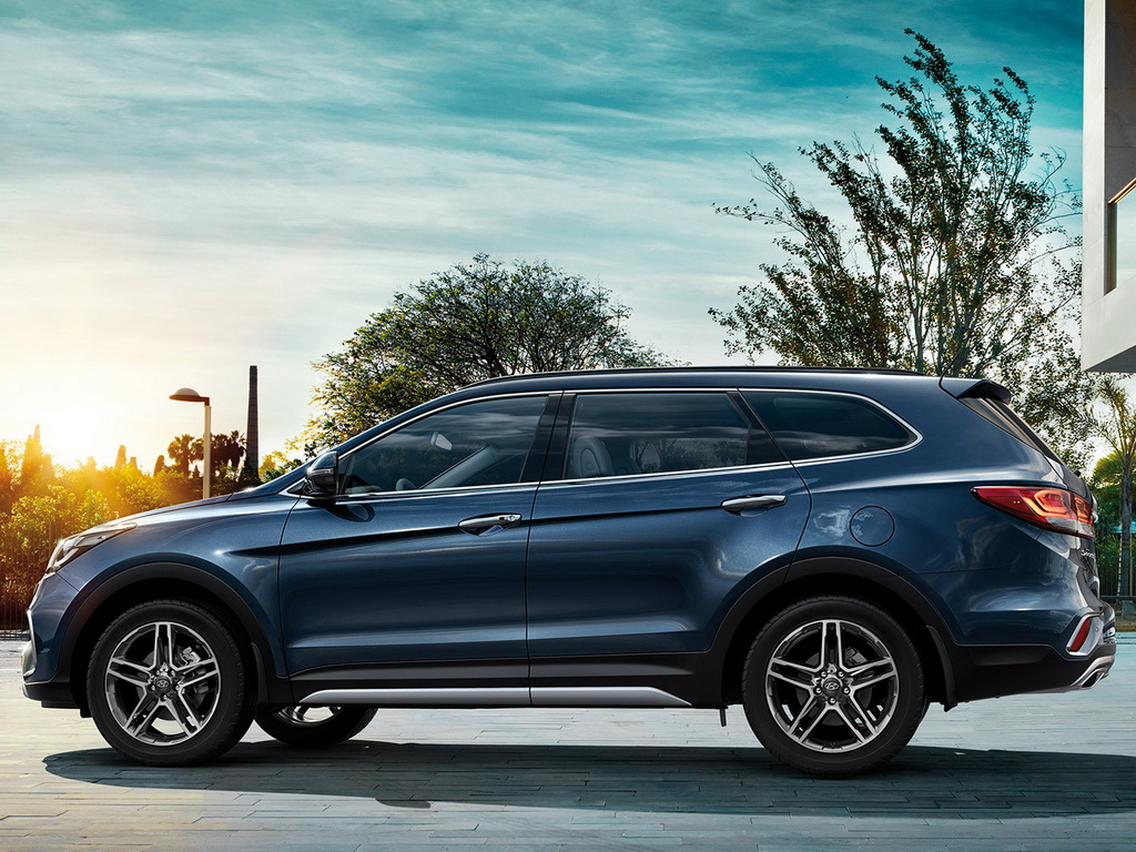 Новый Hyundai Grand Santa Fe 2016 2017 фото и цена