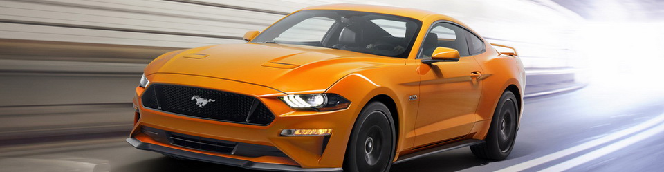 Ford Mustang 2017-2018