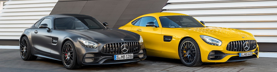 Mercedes-Benz AMG GT 2017-2018