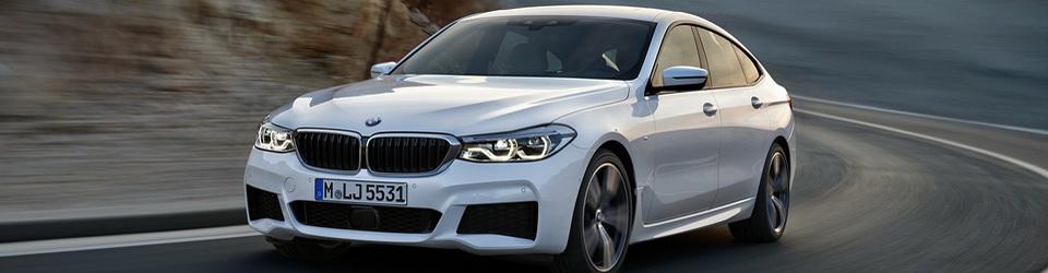BMW 6-series Gran Turismo 2017-2018