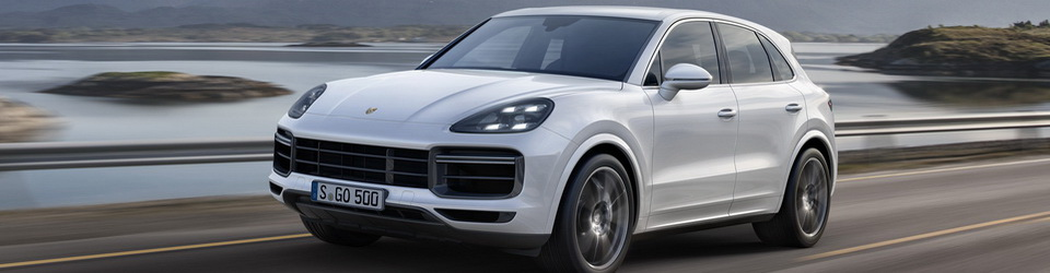 Porsche Cayenne Turbo 2018-2019