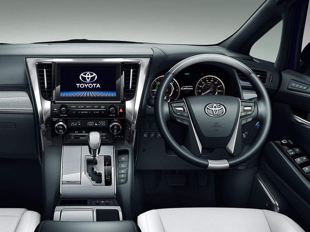 Toyota Alphard 2018-2019 - фото и цена, комплектации ...