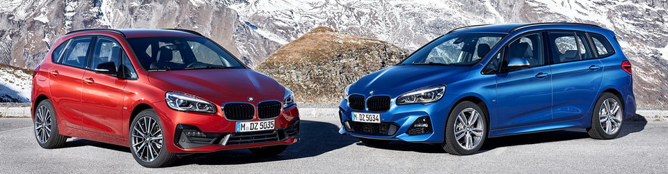BMW 2-series Active Tourer и Gran Tourer 2018