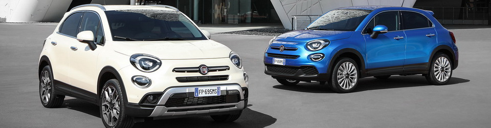 Fiat 500X 2018-2019
