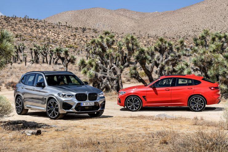BMW X3 M и BMW X4 M 2019
