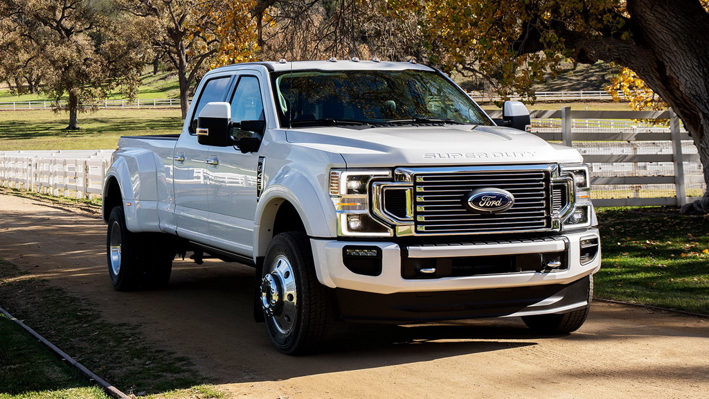 Ford F-Series Super Duty версия Limited