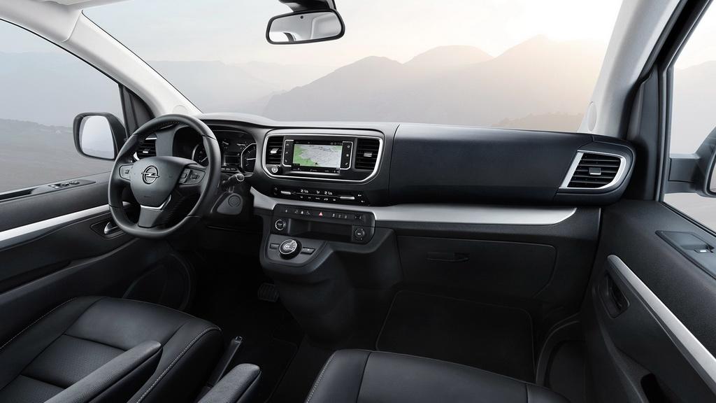 Салон Opel Zafira Life фото