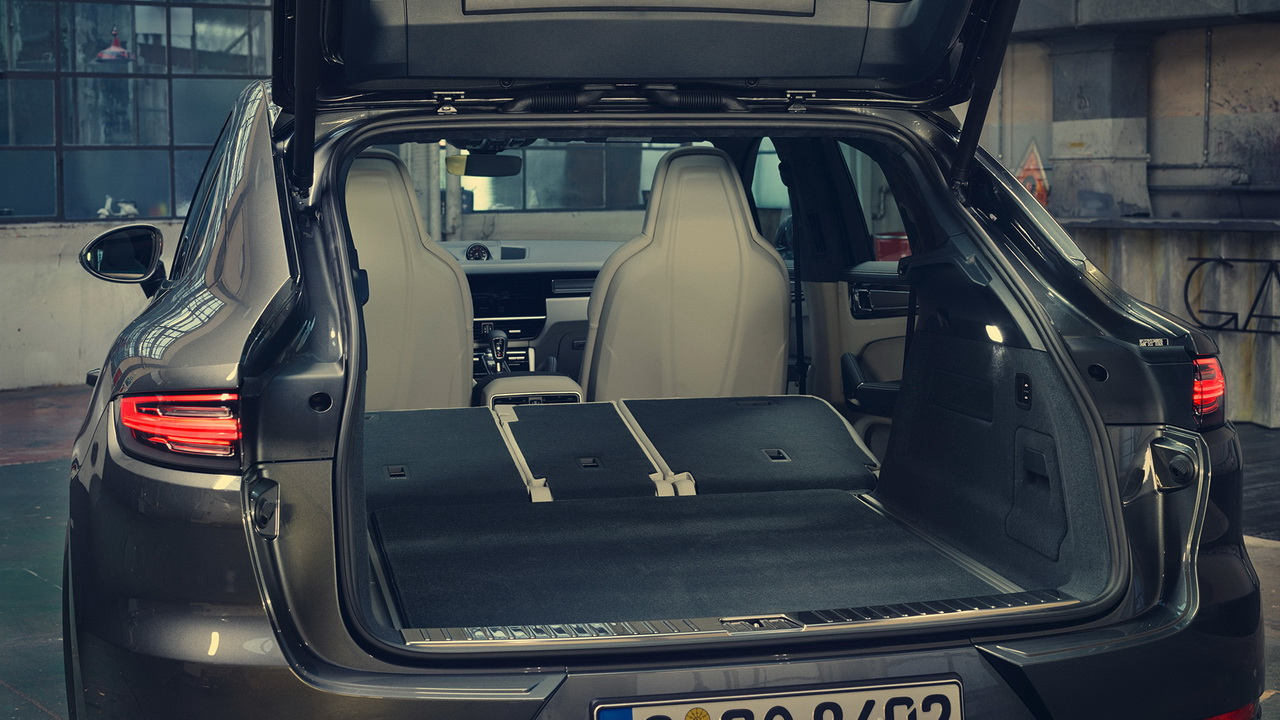 Багажник новой версии Кайена