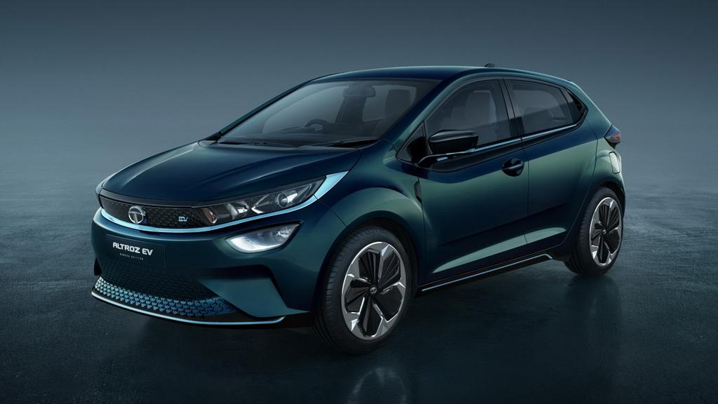 Фото электрического Tata Altroz EV 2020