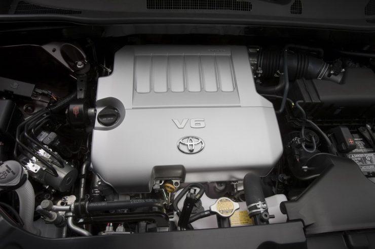 Двигатель Toyota 2GR-FE V6 3.5 литра