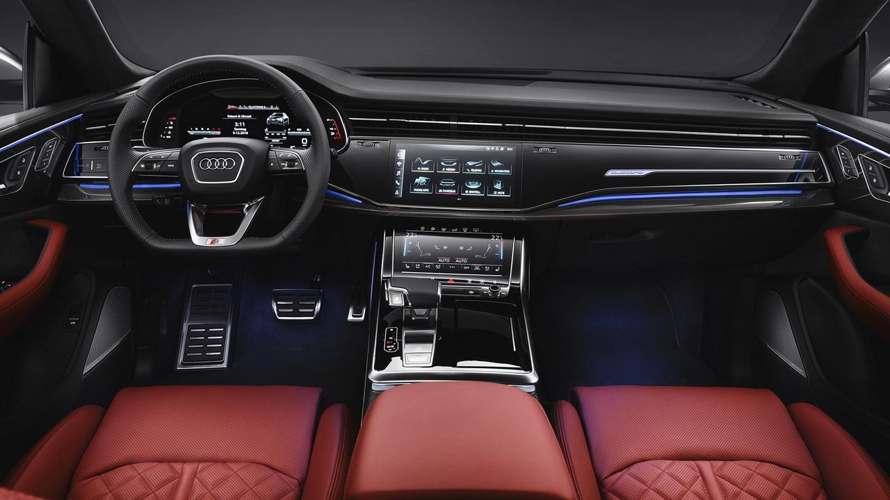 Интерьер Audi SQ8 фото