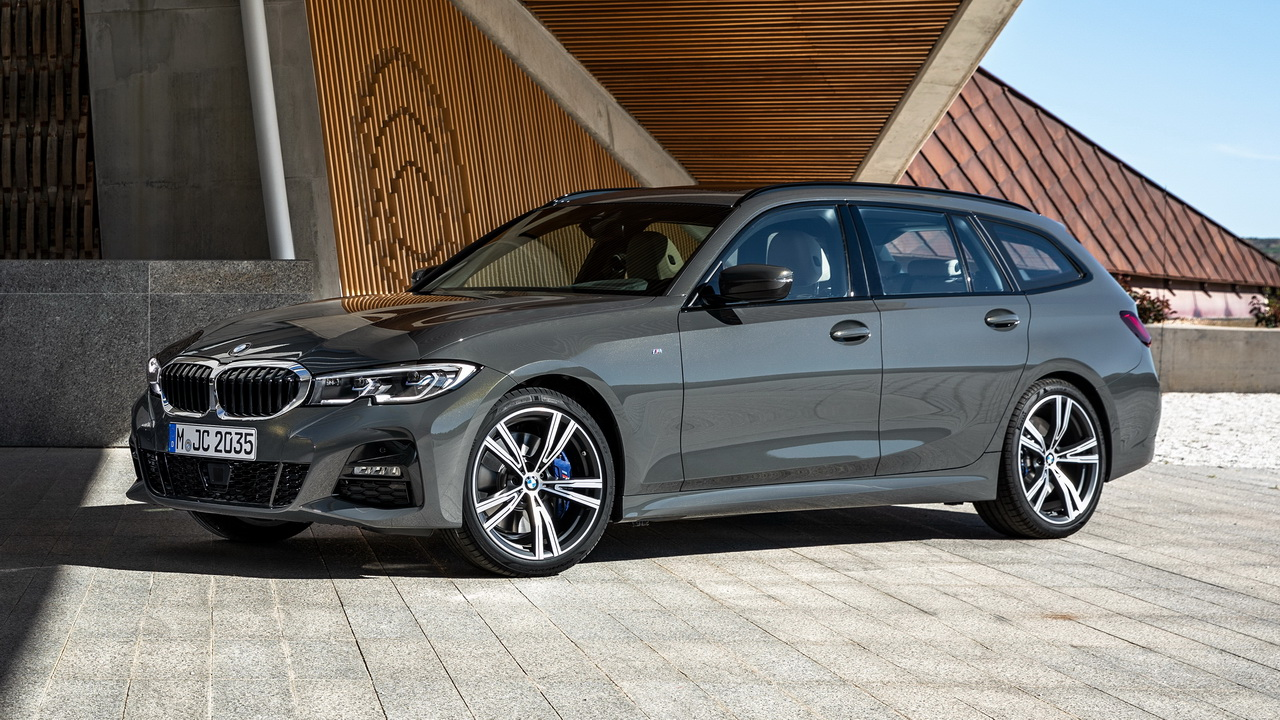 Фото BMW 3-Series Touring с пакетом M Sport