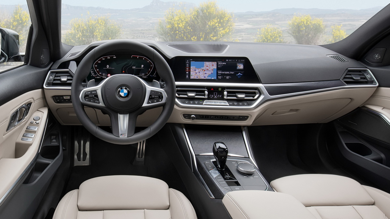 Фото салона BMW 3-Series Touring 2019