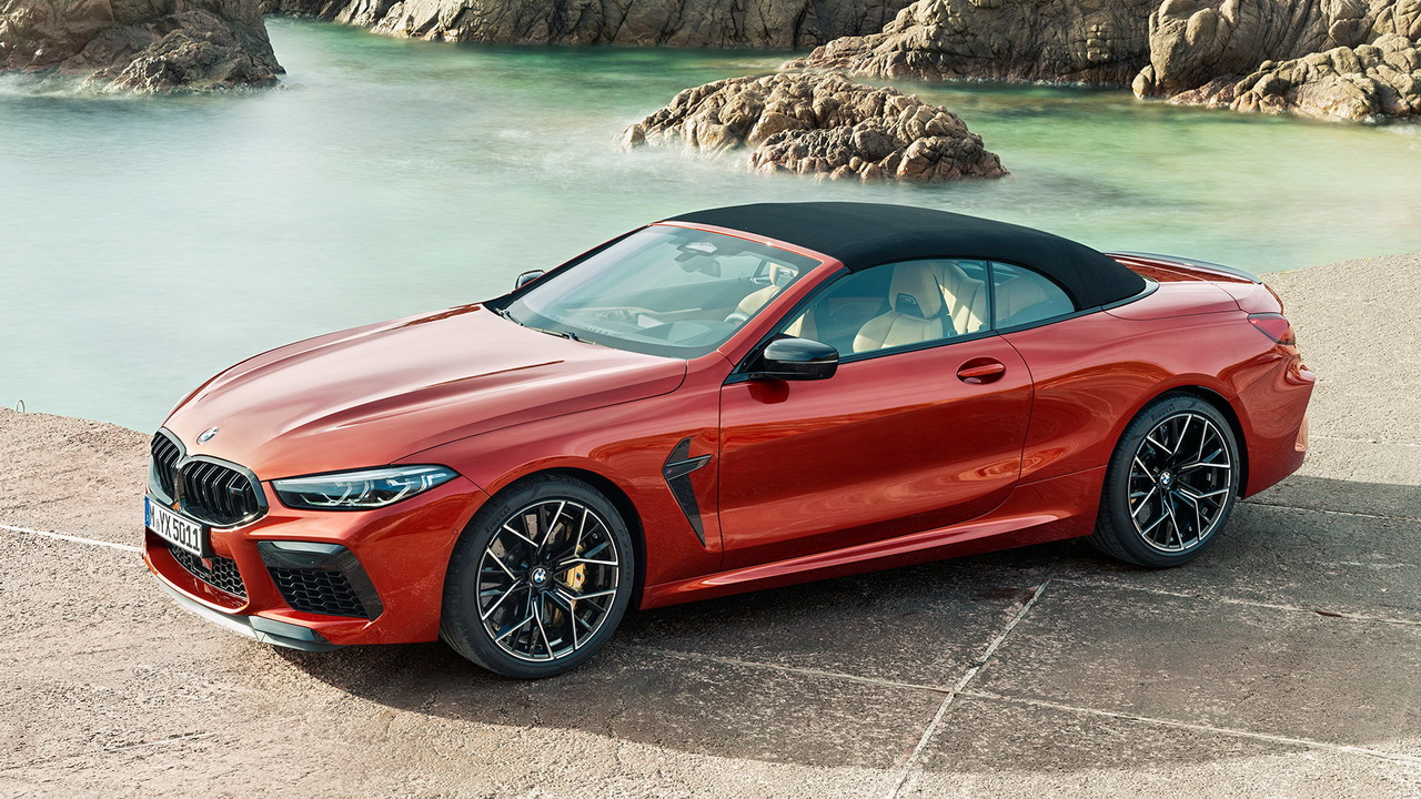 Фото BMW M8 Competition Convertible
