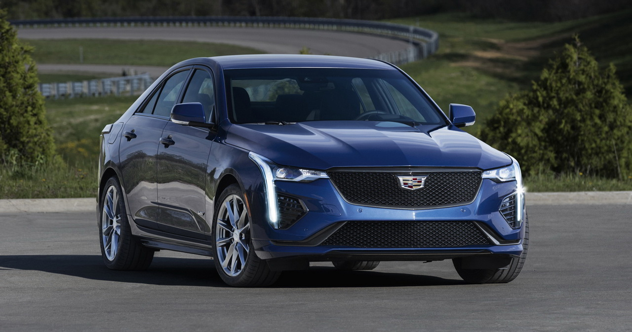 Cadillac CT4 2019-2020 года - фото и цена модели, комплектация, характеристики Кадиллак СТ4