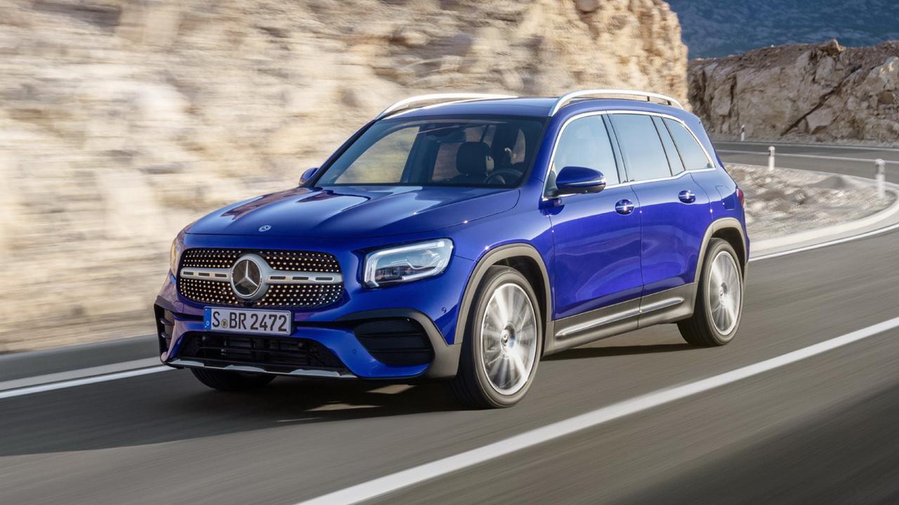 Mercedes-Benz GLB 2019 фото цена и характеристики концепт-версии будущей модели Мерседес
