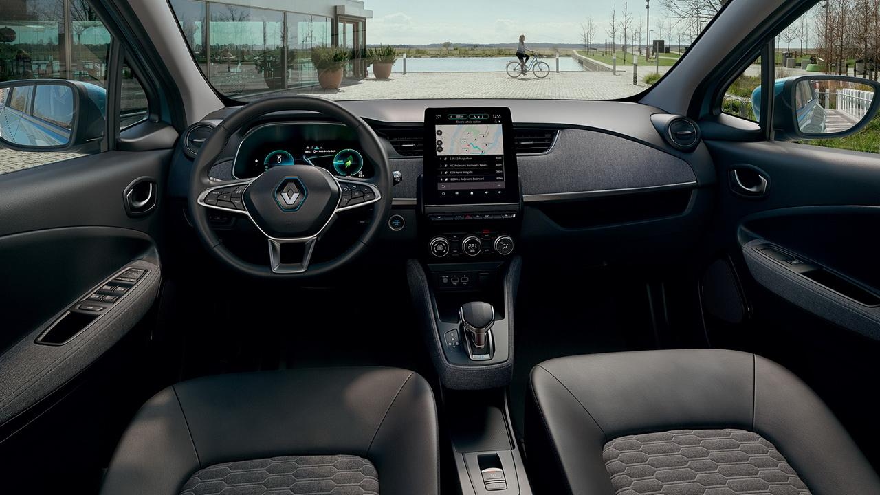 Салон нового Renault Zoe фото