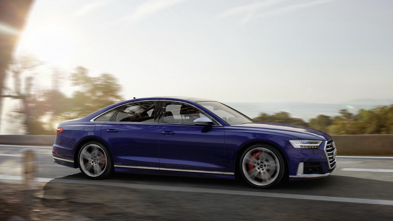 Audi SQ8 2019 фото цена и характеристики спортивной версии Ауди