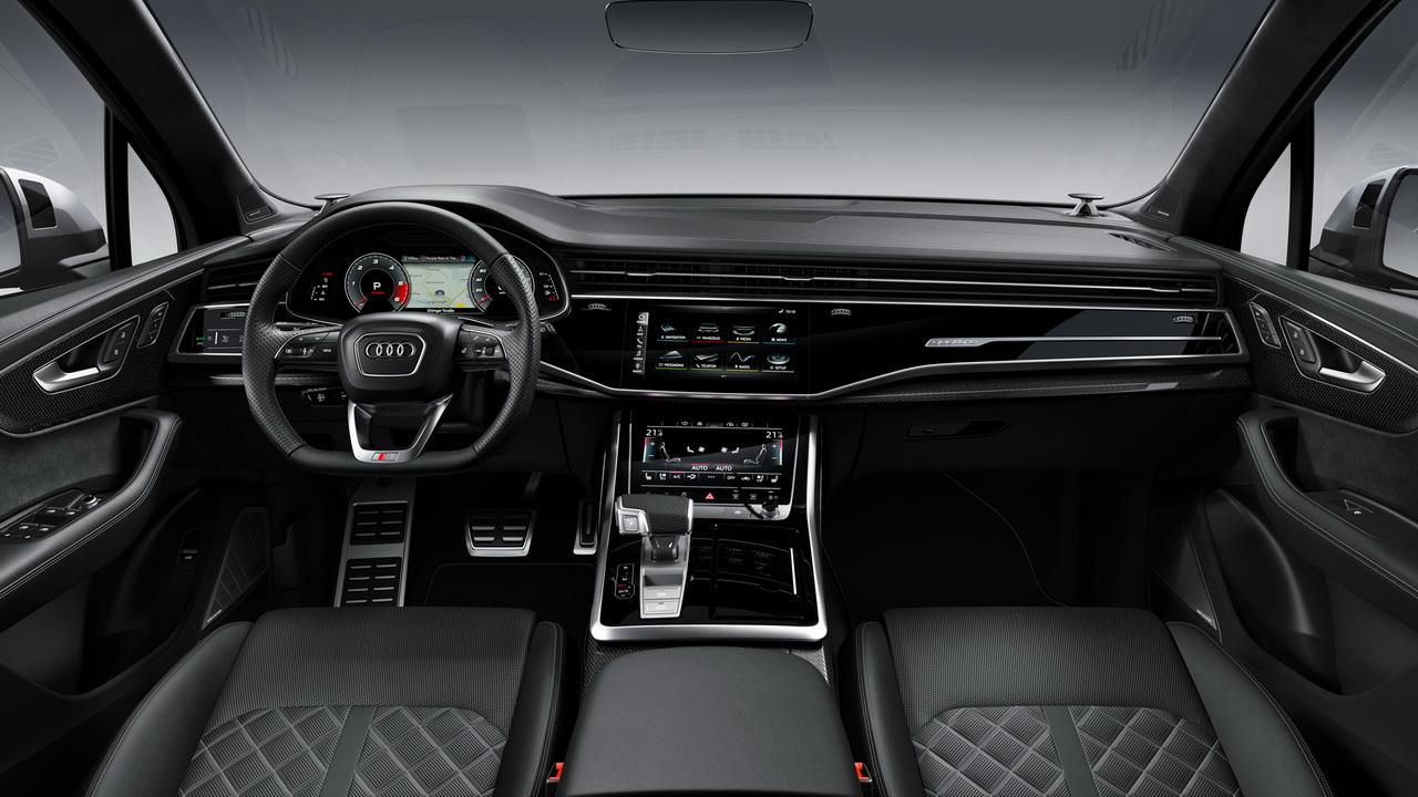Фото салона нового Audi SQ7