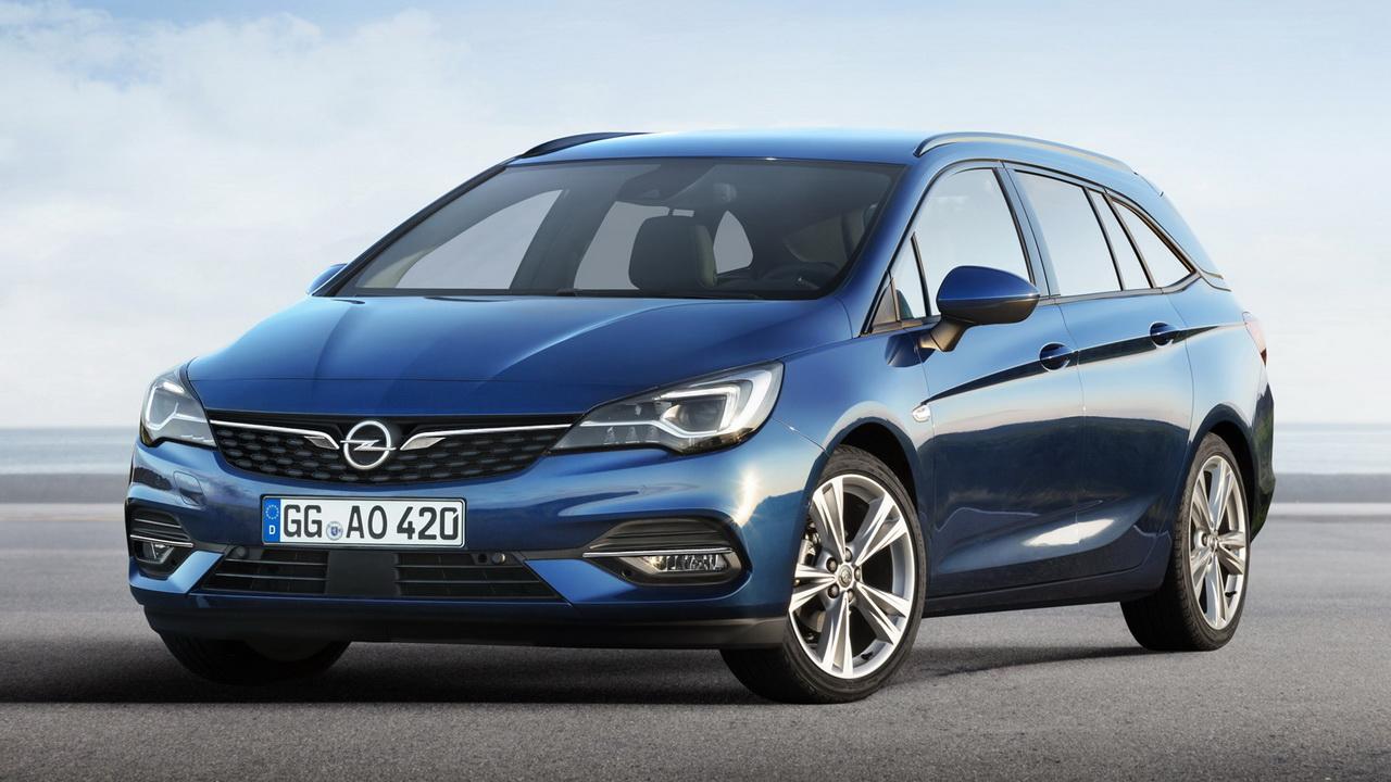 Фото универсала Opel Astra Sports Tourer