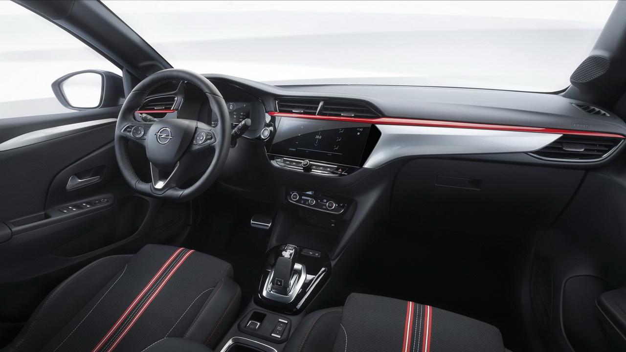 Салон Opel Corsa фото