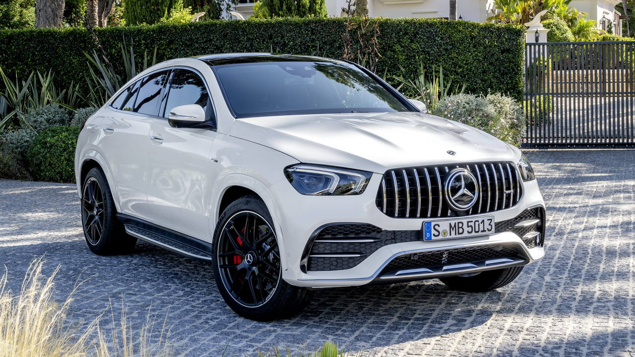 Фото Mercedes-AMG GLE 53 Coupe 2020