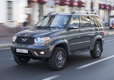 УАЗ Патриот 2019 с автоматом