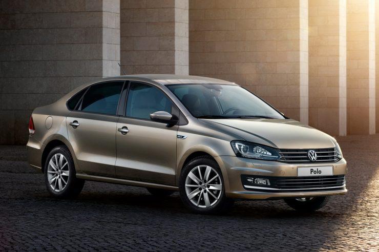 Volkswagen Polo седан 2020 модельного года - цена в России