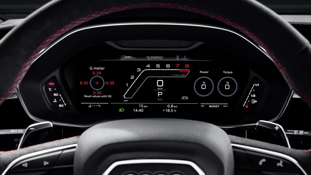 Приборная панель Audi virtual cockpit