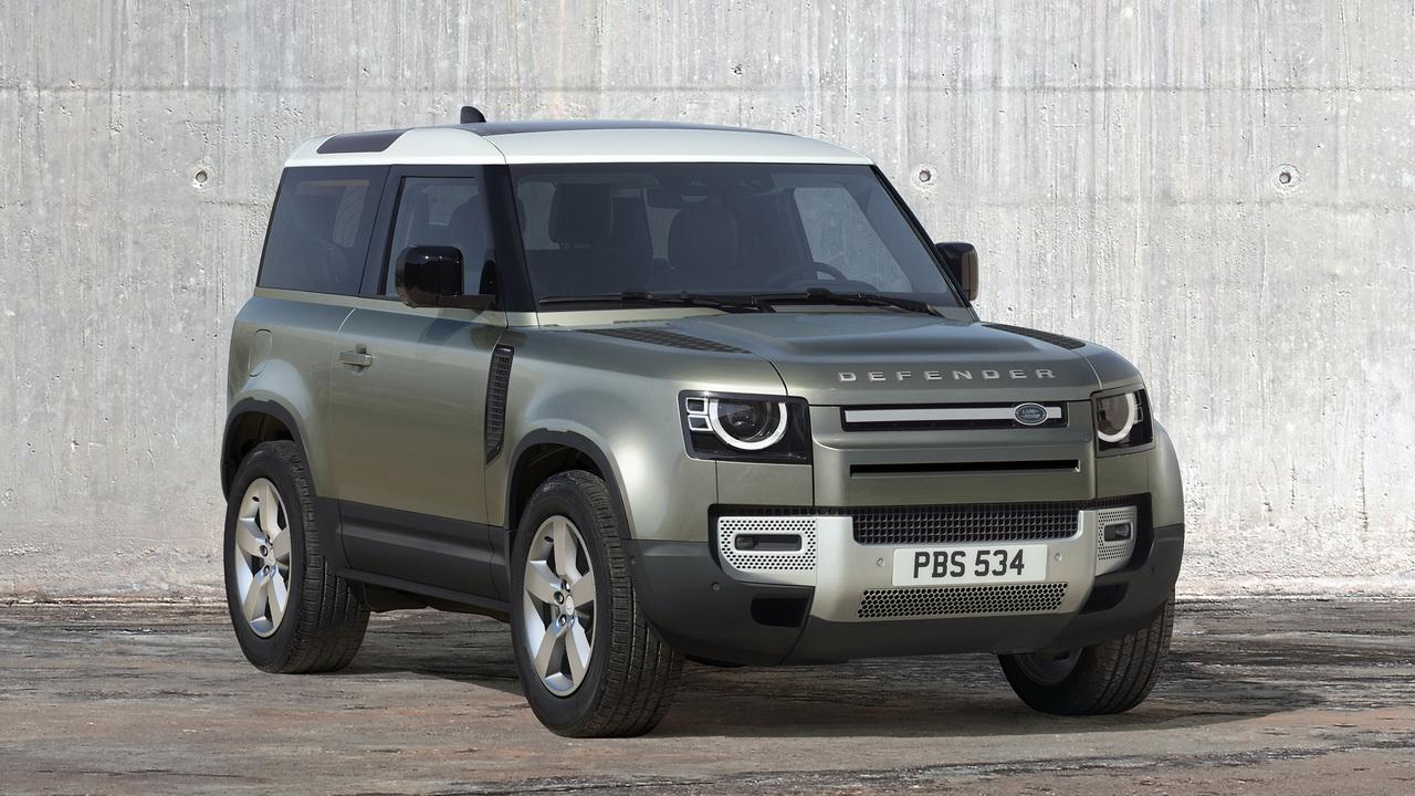 Фото трехдверного Land Rover Defender 90