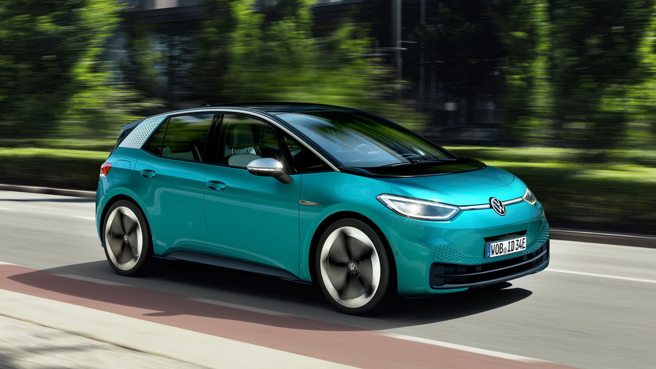 Volkswagen ID3 2019 фото цена и характеристики электрической новинки от Фольксваген семейства ID