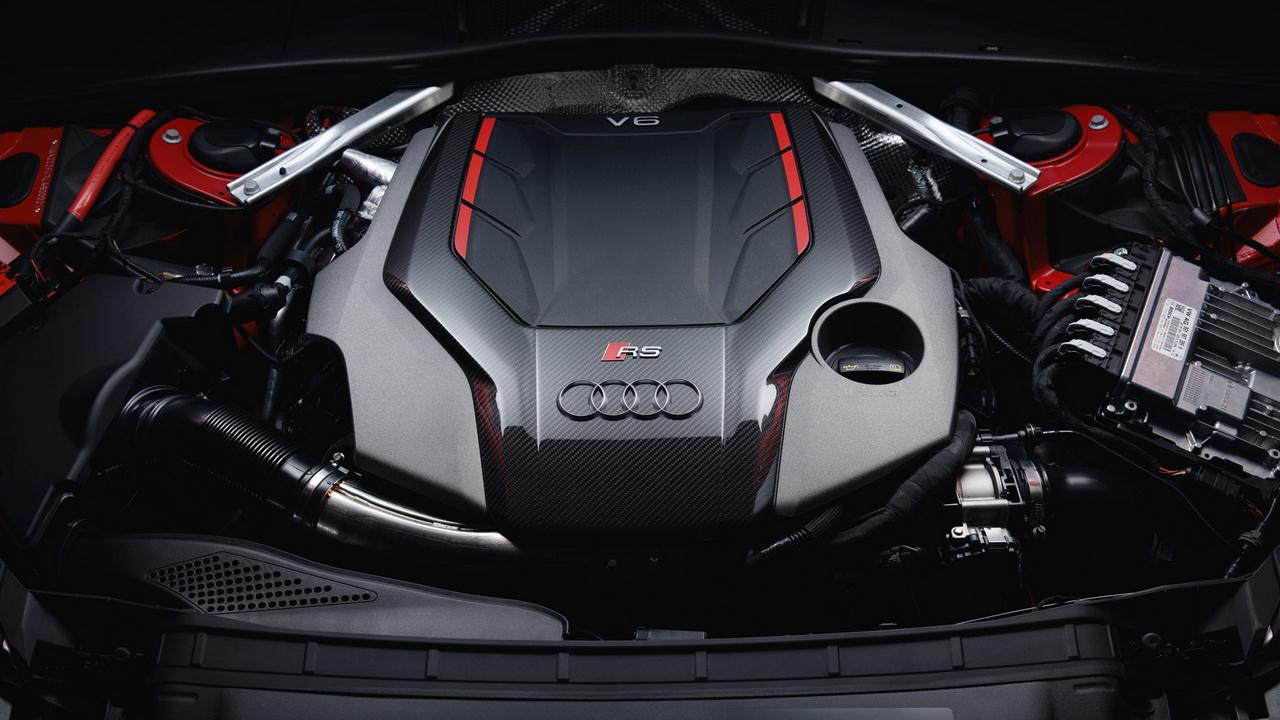 Мотор V6 2.9 мощностью 450 л.с.