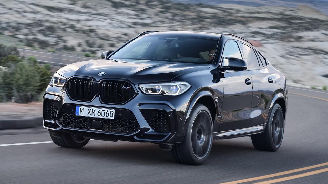 Фото BMW X6 M Competition