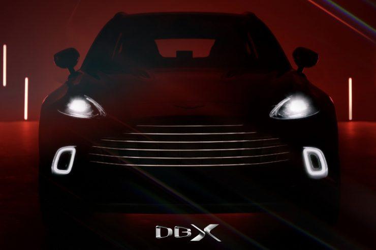 Новый Aston Martin DBX – цена и фото интерьера кроссовера