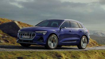 Электрокар Audi e-tron увеличил пробег и обзавелся пакетом S line