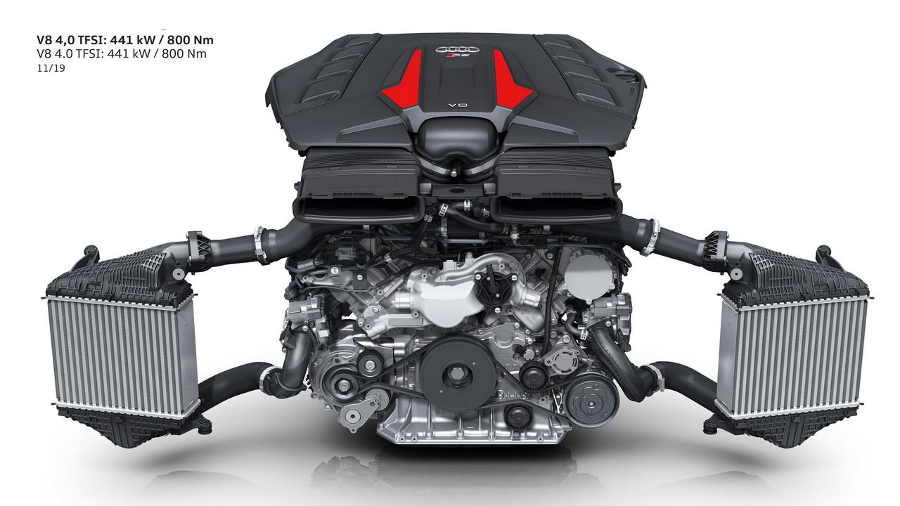 Двигатель V8 TFSI 4.0