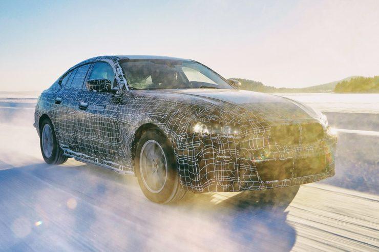 Новый BMW i4: мощность 530 л.с и запас хода 600 км